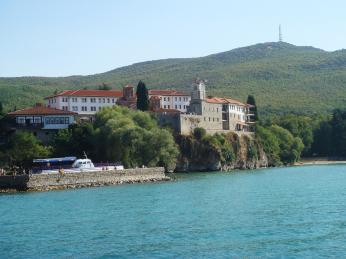 Klášter svatého Nauma u Ohridského jezera