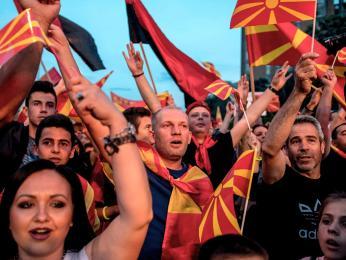 Makedonci jsou patrioti hrdí na svůj jazyk a národ