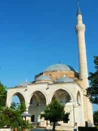 Mešita Mustafa Paši zkonce 15.století veSkopji