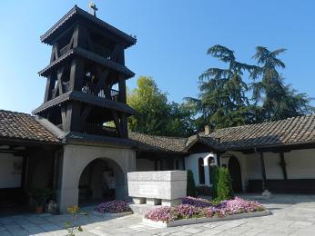 Starobylý klášter Sveti Spas v centru Skopje