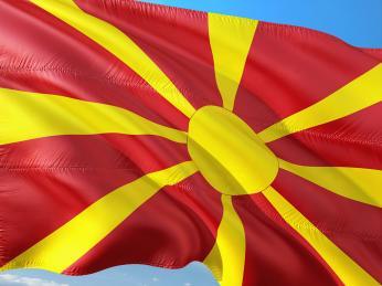 Vlajka Republiky Severní Makedonie
