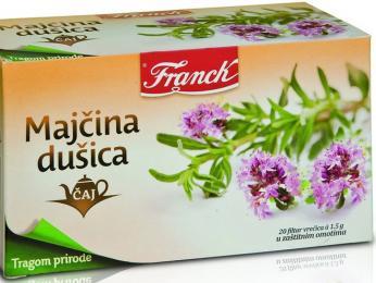 Oblíbený bylinkový čaj Majčina dušica