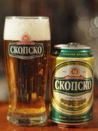 Oblíbenou značkou piva je Skopsko