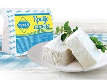 Sýr Sirenje koupíte bez problému vobchodě