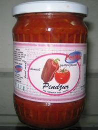 Zeleninová směs pindžur se používá jako dochucovadlo