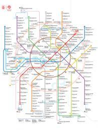 Všechny linky moskevského metra