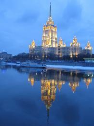 Luxusní ubytování zaručí hotel Ukrajina