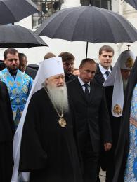 Státní návštěva Novoděvičího kláštera