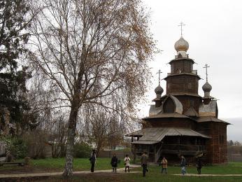 Skanzen lidové architektury Suzdal