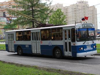 Místní trolejbusy