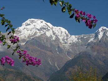 Cestou do základního tábora Annapuren