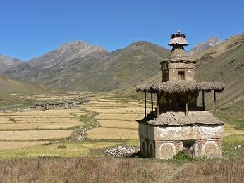 V odlehlém Dolpu na západě Nepálu lidé vyznávají buddhismus