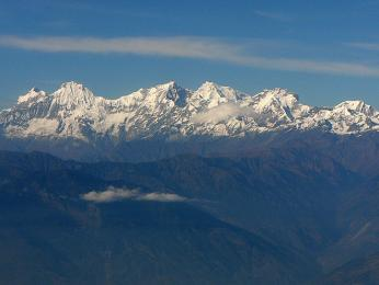 Rezervujte si místo na levé straně letadla, ať nepřijdete o nádherný výhled