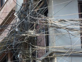Není se čemu divit, že vKáthmándú jsou výpadky proudu na denním pořádku
