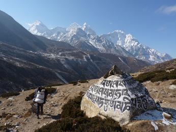 Překrásná himálajská panoramata uvidíte na známých trecích, ale i vméně navštěvovaných oblastech