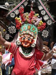 Nepálci mají svátky velmi voblibě