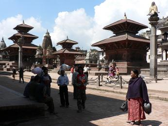 Patan je jedno ze tří bývalých královskýchměst