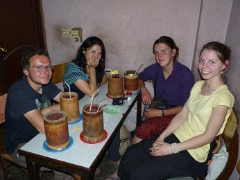 Tibetské pivo Tongba