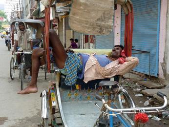 Pro některé řidiče, je rikša jejich jediným majetkem