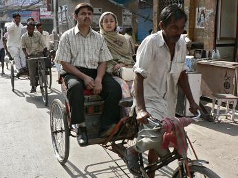 Nebojte se využít rikšu