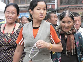 V Nepálu žije mnoho lidí stibetským původem