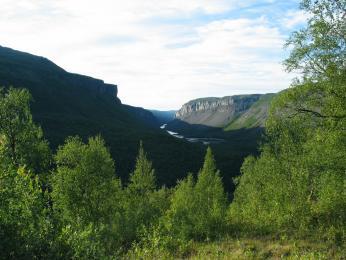 Kaňon řeky Alta