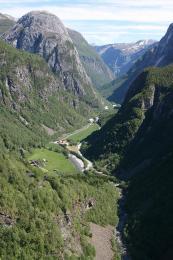 Stalheimskleiva - patrně nejdrsnější norská silnička