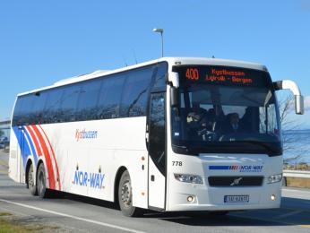 Dálkové autobusy společnosti Nor-way bussekspress
