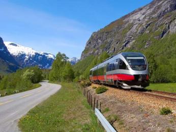 Norsko disponuje moderními pohodlnými vlaky