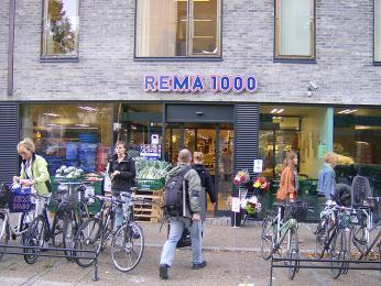 Prodejna nákupního řetězce REMA 1000