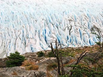 Ledovec Glaciar Grey v Torres del Paine