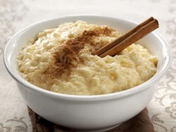 Sladký rýžový nákyp arroz doce