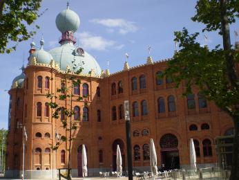Campo Pequeno je známá lisabonská aréna pro býčí zápasy