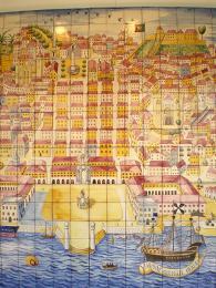 Jádro Lisabonu po silném zemětřesení zrekonstruoval Markýz de Pombal