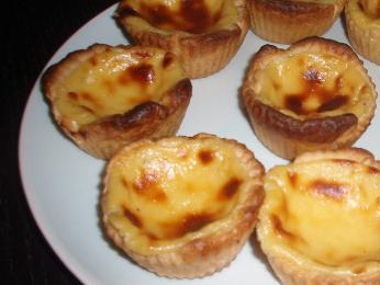 Jeden znejlepších portugalských dezertů je vaječno-pudinkový pastel de nata
