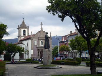 Jeden z mnoha kostelů vbývalém arcibiskupském městě Braga