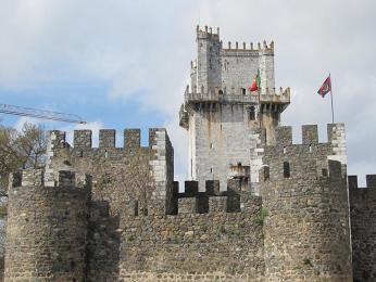 Hradní věž původem ze 13.století je dominantou města Beja