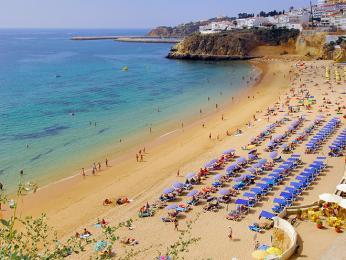 Jedním znejturističtějších míst vPortugalsku je Albufeira