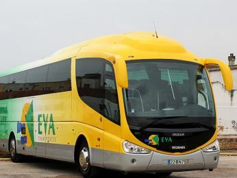 Dálkový autobus společnosti Eva