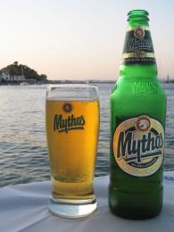 Řecké pivo Mythos