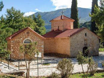 Klášter Agia Lavra se stal po vítězství nad Turky národním památníkem