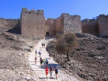 Brána k hradu Akrokorint