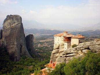 """""""Létající"""" kláštery Meteora"""