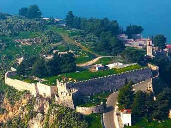 Pevnost Akronafplia sloužila i jako politické vězení vletech 1936–56