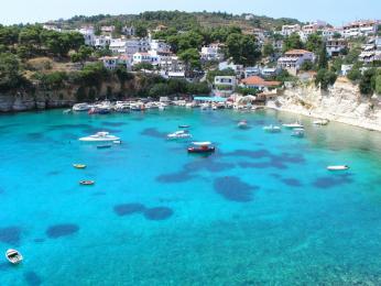 Ostrov Alonissos je součástí mořského národního parku