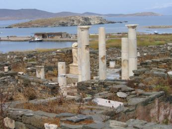 Archeologická lokalita ostrova Delos