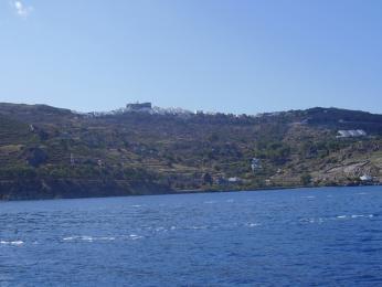 Patmos s klášterem Apokalypsa na kopci