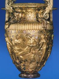 Vzácný bronzový kratér Derveni naleznete varcheologickém muzeu vSoluni