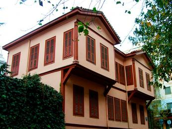 Dům v Soluni, v němž se narodil turecký hrdina Atatürk