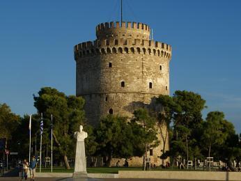 Bílá věž je považována za symbol města